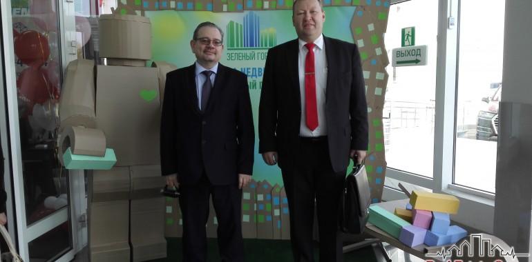 Управляющие партнеры Real Estate Group 26.09.2015 г. посетили выставку «Зеленый город» в г. Киров